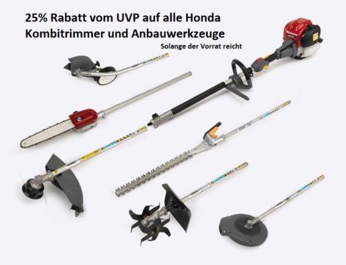 Motorsense Kombigeräte Honda UMC 425 und UMC 435 Sonderaktion -25% auf UVP