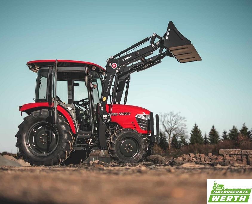 Traktor Branson 5025C mit Stoll Frontlader günstig kaufen Kompakttraktor