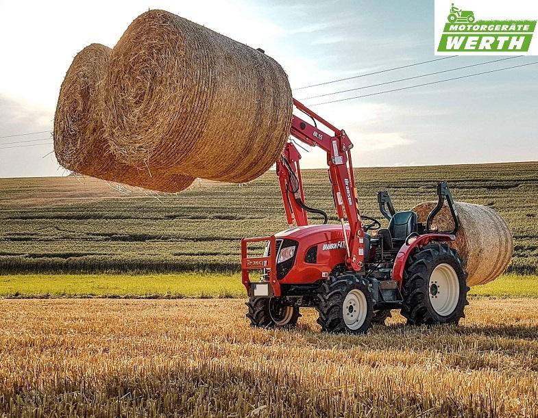 Traktor Branson mit Frontlader und Ballenspiess für Rundballen günstig kaufen Kompakttraktor