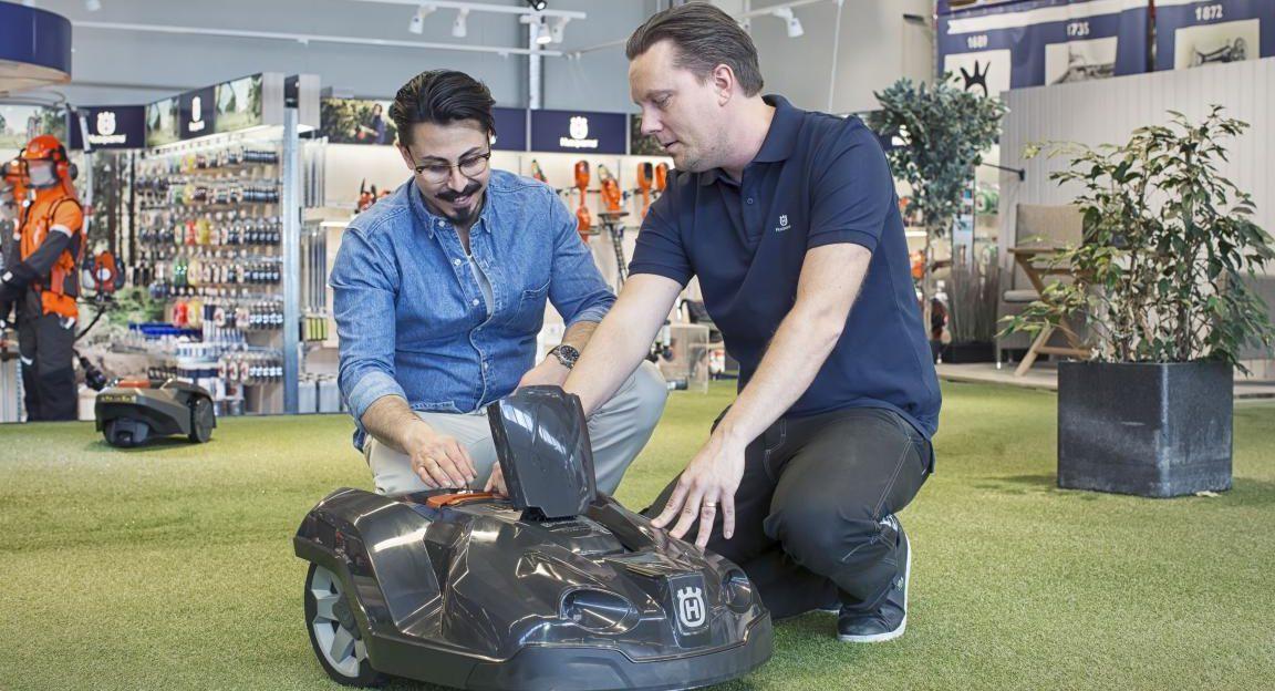 Husqvarna Automower Mähroboter Beratung und Service günstig kaufen