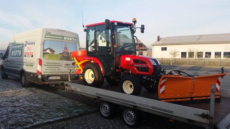 Branson Traktor Winterdienst Kompakttraktor Winterpaket günstig kaufen