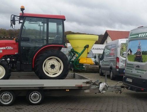 Kundenübergabe: Kompakttraktor Branson F36Hn