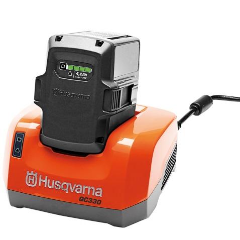 Ladegerät QC330 und QC500 für Husqvarna Akku günstig kaufen