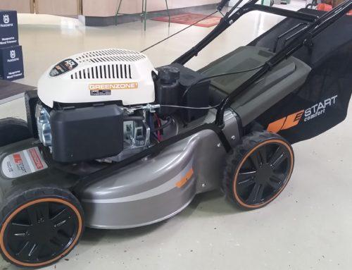Al-Ko Rasenmäher mit Radantrieb und Elektrostarter für nur 499,- €