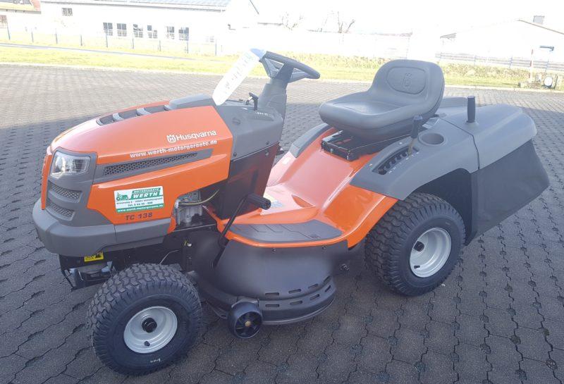 Rasentraktor Husqvarna TC 138 günstig kaufen bei Werth Motorgeräte günstig kaufen