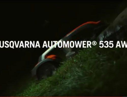 Neuer Husqvarna Allrad Automower® 535 AWD für 2019