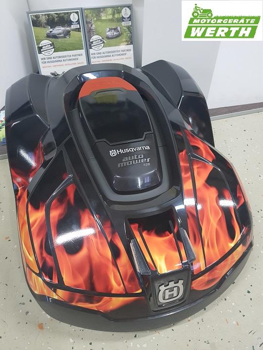 Husqvarna Automower Fachhändler Werth mit großer Auswahl Folierung Feuer günstig kaufen