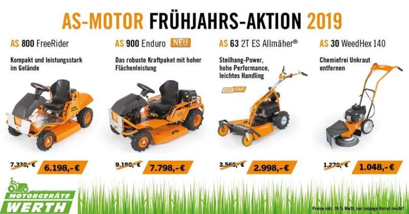 AS Motor Frühjahrs-Aktion günstig kaufen