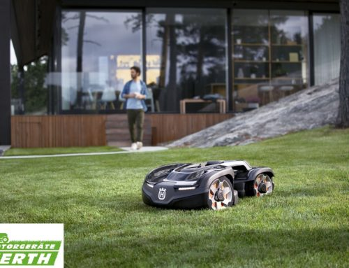 Husqvarna Automower 435X AWD bis 70% Steigung – ein echter Bergsteiger – Die Allrad Neuheit für 2019