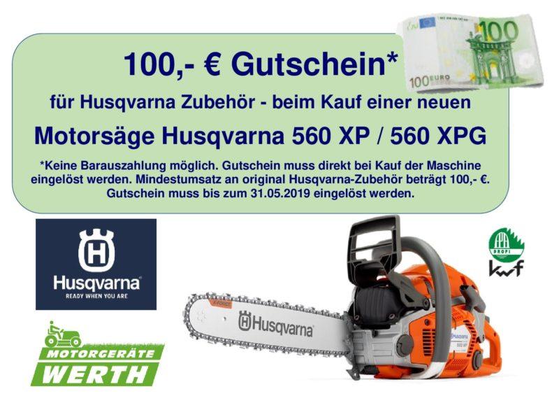 Husqvarna Motorsäge 560XP günstig kaufen