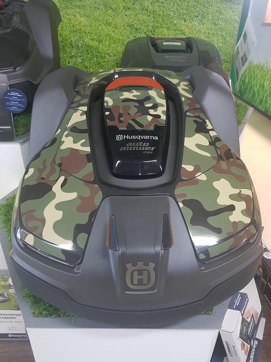 Husqvarna Automower 430X Camouflage Folierung günstig kaufen