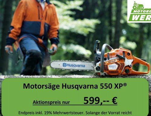 Motorsäge Husqvarna 550XP® Sonderaktion Modell 2018