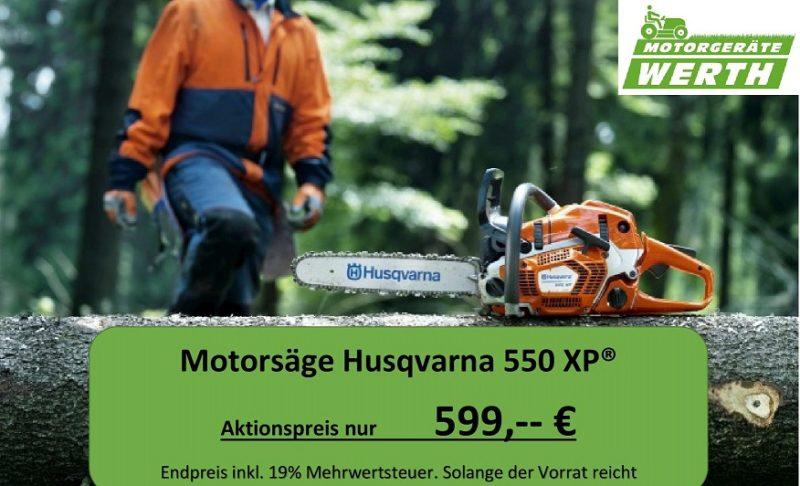 Motorsäge Husqvarna 550XP Aktionspreis günstig kaufen