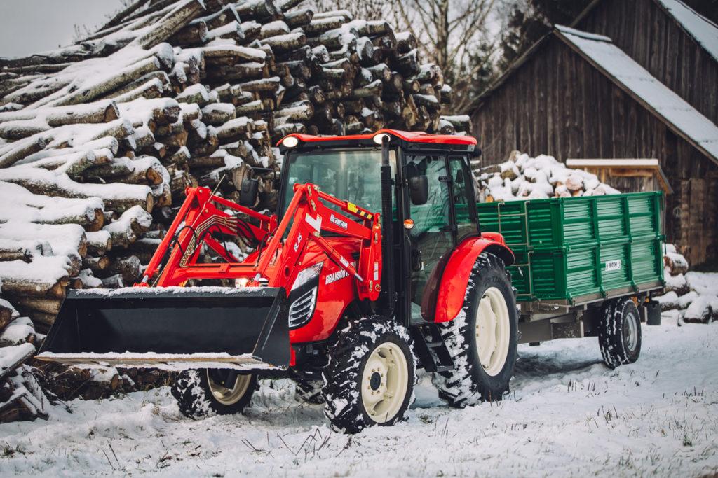 Branson Traktor K78 mit Frontlader günstig kaufen