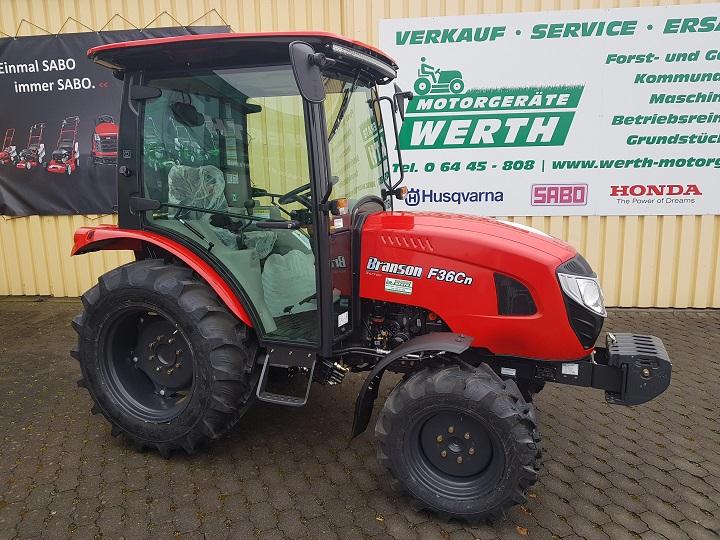 Branson Traktor F36CN und F47CN mit Kabine günstig kaufen