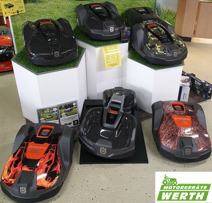Husqvarna Automower Mähroboter große Auswahl günstig kaufen