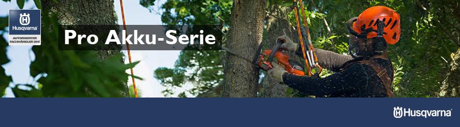Husqvarna Akku Serie für Forst und Garten günstig kaufen