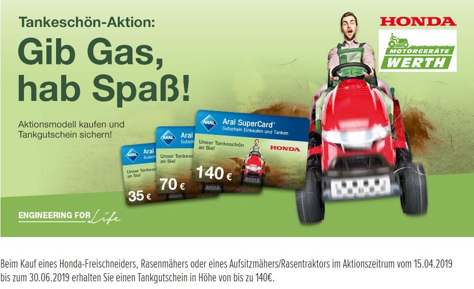 Honda Aktion Rasenmäher