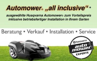 Husqvarna Automower Angebote günstig kaufen