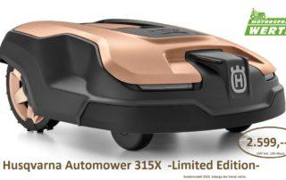 Husqvarna Automower 315X Limited Edition Mähroboter günstig kaufen