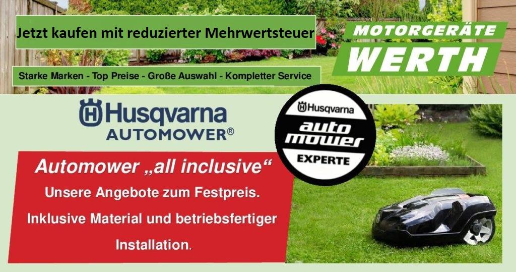 Husqvarna Automower kaufen mit reduzierter Mehrwertsteuer