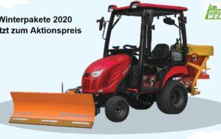 Winterpakete von Branson Traktor für Winterdienst günstig kaufen