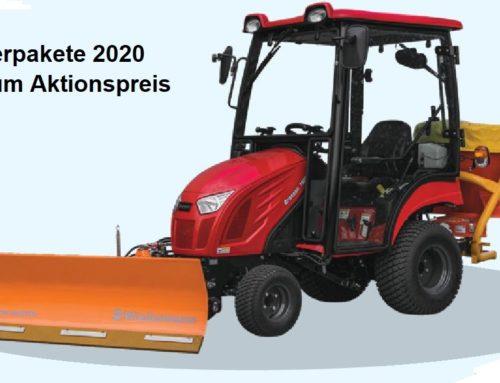 Branson Traktor im Winterpaket günstig kaufen