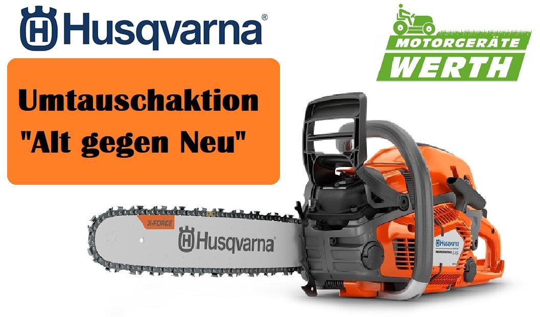 Motorsäge Husqvarna 545 Mark 2 Umtauschaktion Herbstangebote 2020 kaufen