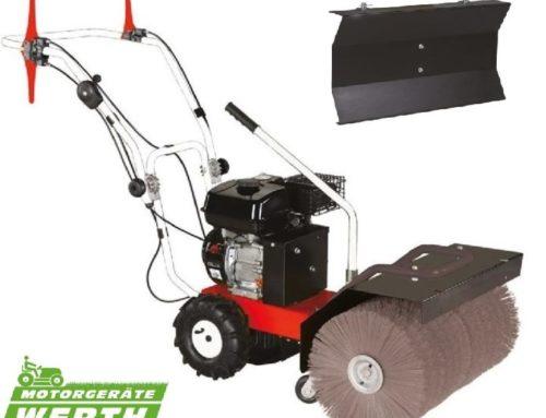 Kehrmaschine Lazer Winterdienst Angebot mit Schneeschild