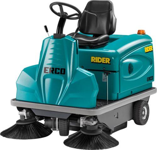 Aufsitz-Kehrmaschine Erco mit Honda Motor