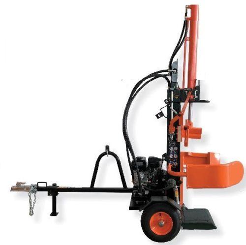 Holzspalter mit Benzinmotor Fahrgestell und Anhängerkupplung für PKW günstig kaufen