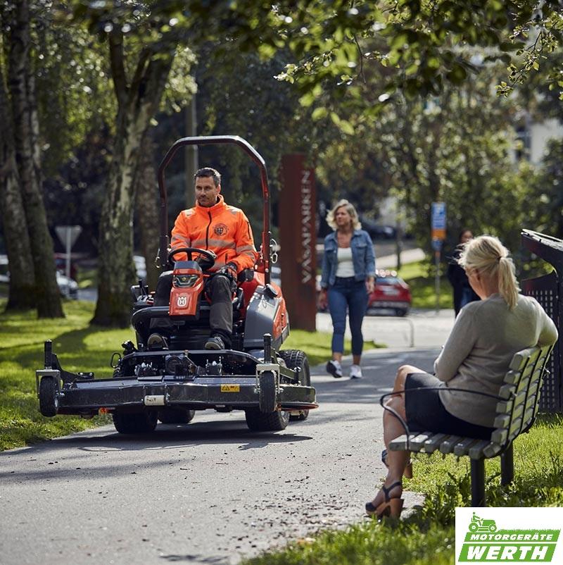 Husqvarna Profi Frontmäher P 535HX Hybrid Rider
