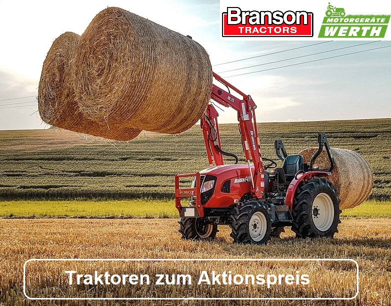 Traktor Branson Aktionsangebote Preis kaufen Händler