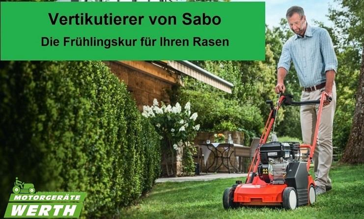 Vertikutierer Sabo kaufen Preis Angebot