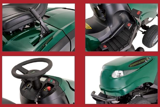 Rasentraktor Brookland´s 200/102 Hydro V2 Kawasaki Motor Stiga kaufen