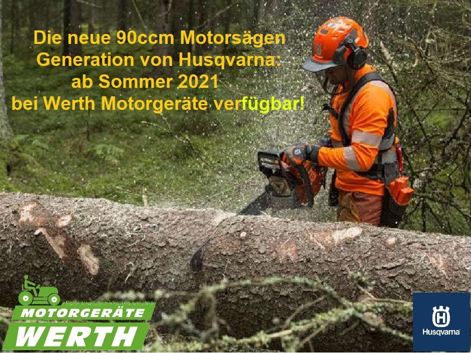Motorsäge Husqvarna 592XP neues Profi Modell 90ccm günstig kaufen Werth