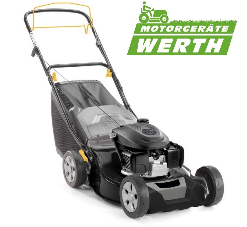 Rasenmäher mit Honda Motor und Mulchkit